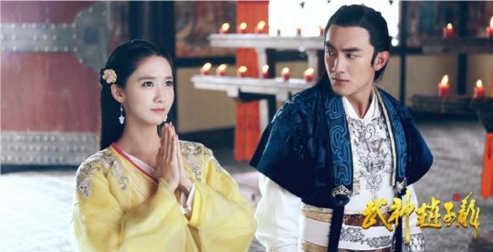 "YoonA Lets Slip a Behind-the-Scenes Secret on ""God of War, Zhao Yun"""