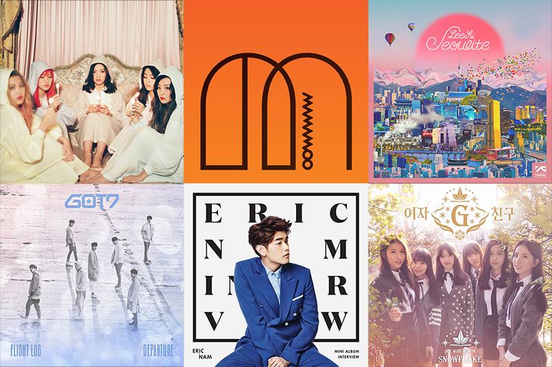Weekly K-Pop Music Chart 2016 – April Week 2