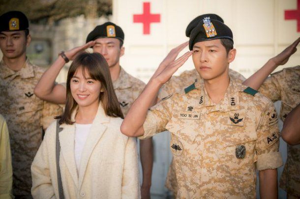 """Descendants of the Sun"" Leads Ratings Even With Reruns"