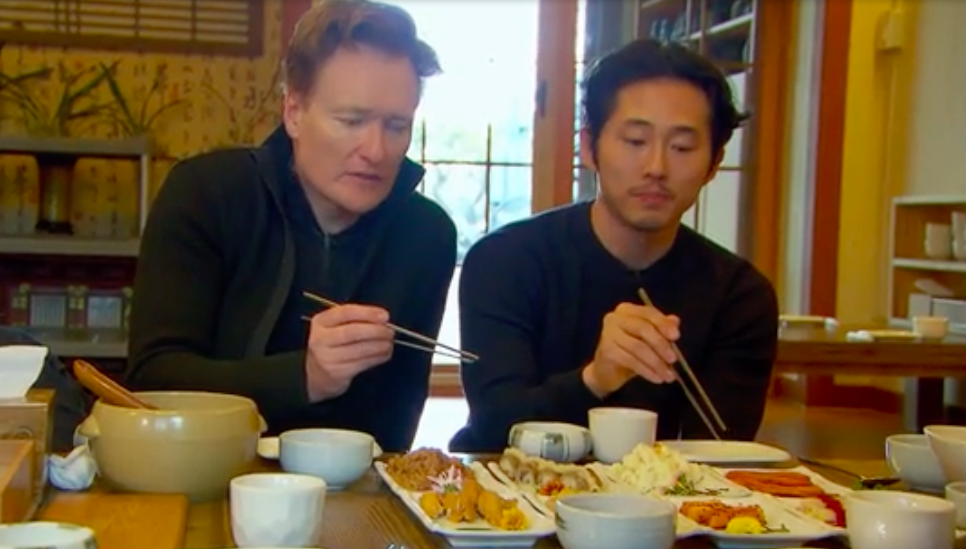 steven yeun and conan 2