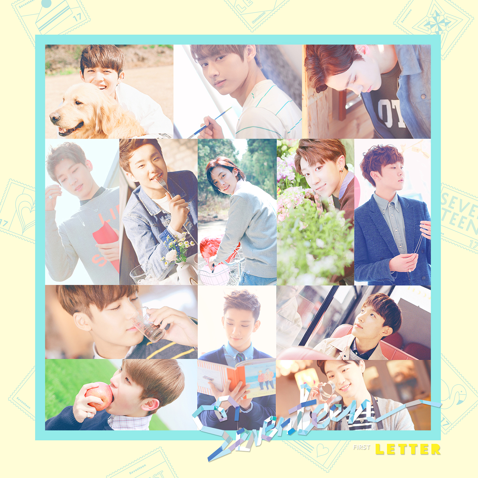 "Update SEVENTEEN Reveals Highlight Medley for Album ""Love"