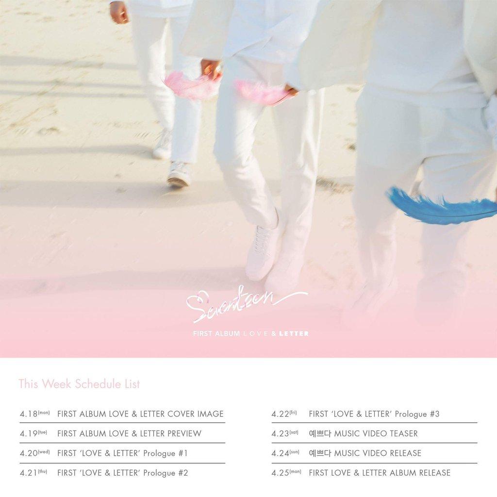 seventeen comeback schedule