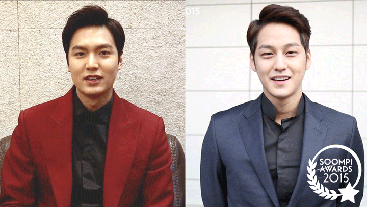"Exclusive: Lee Min Ho and Kim Bum for ""Boys Over Flowers"" Special Hallyu Award"