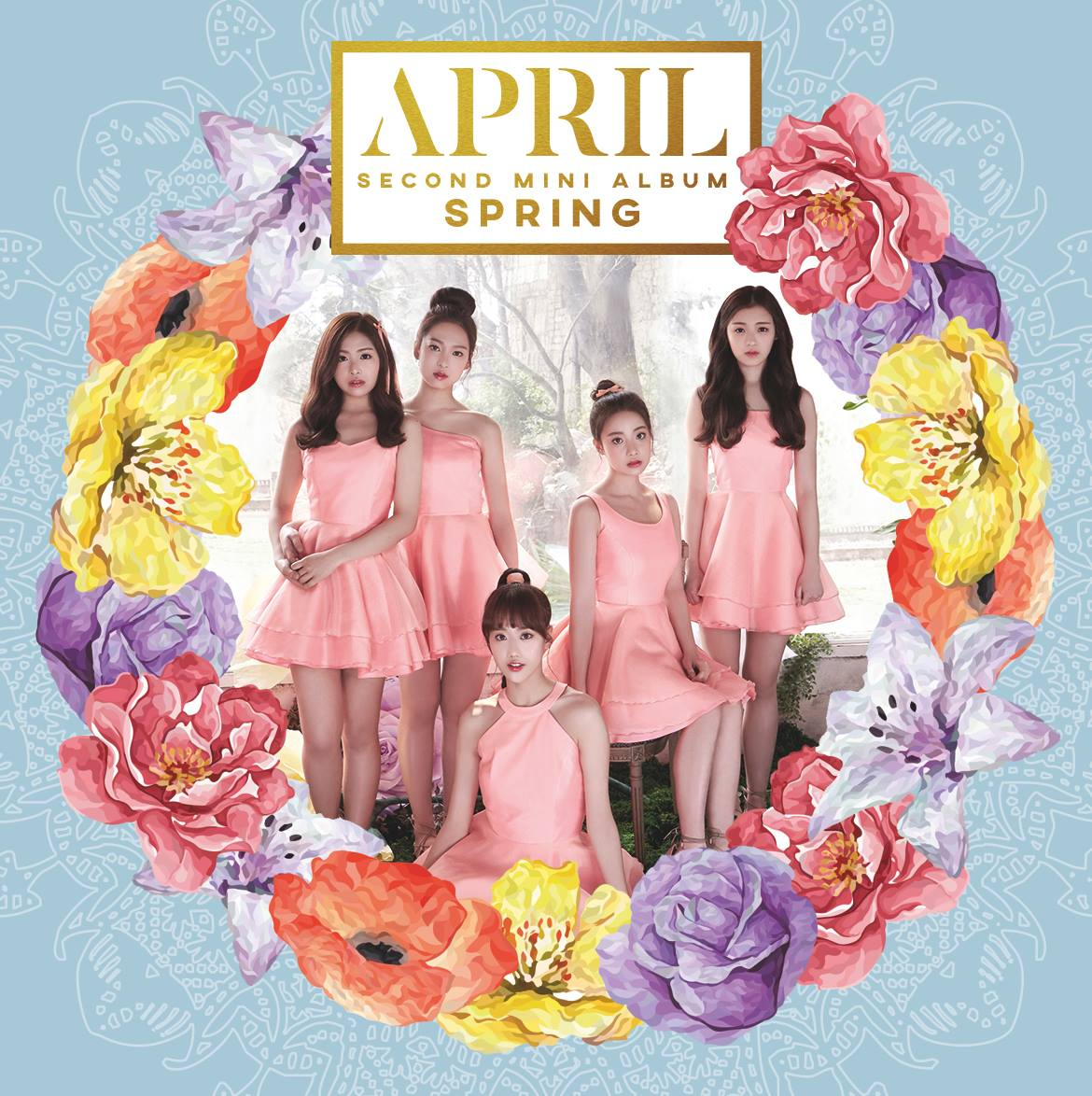april second mini album spring