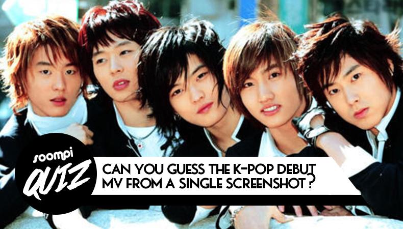 soompi kpop quiz debut music video screenshot