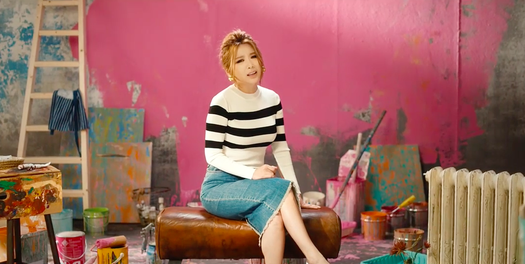 """Brown Eyed Girls' JeA Drops """"Bad Girl"""" MV Featuring Jung Yeop"""