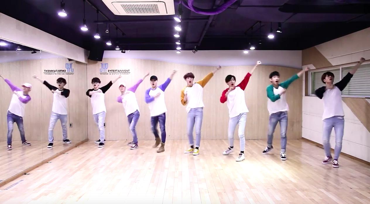 "GOT7 Shares Fun Dance Practice Video for ""Home Run"""