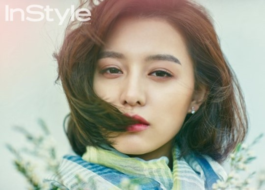 Kim Ji Won Inspires Spring Dreams in InStyle's Pictorial