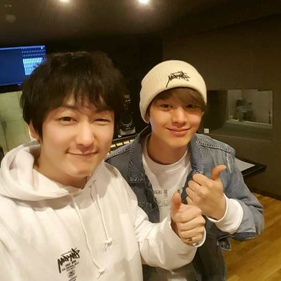 Geeks' Louie Teases Upcoming Title Track Featuring Yook Sungjae