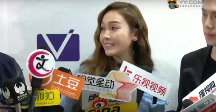 Jessica Struggles Through Chinese Interview Because of Interpreter