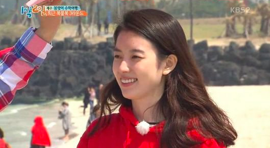 """""""2 Days & 1 Night"""" Members Don't Want to Go Home Because of Han Hyo Joo"""
