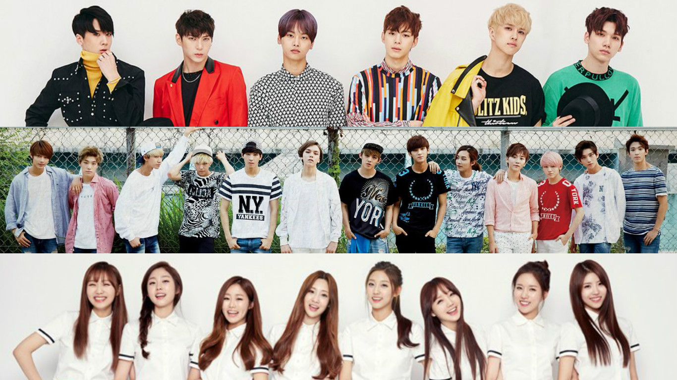 "VIXX, SEVENTEEN, and Lovelyz Jump on the ""Trilogy"" Bandwagon"