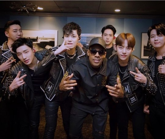 Mario Praises B.A.P After Meeting Them Backstage at L.A. Concert