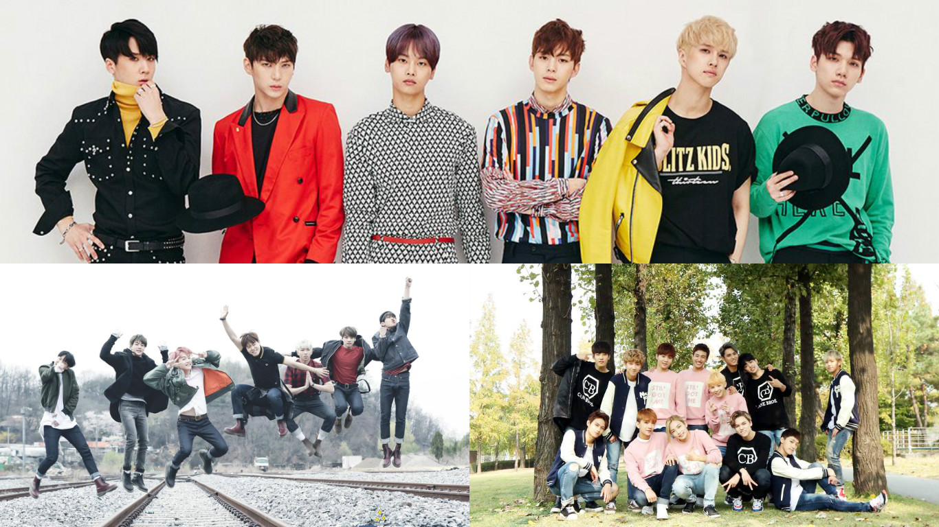 Vixx Is Not Worried About Bts And Seventeen S Overlapping