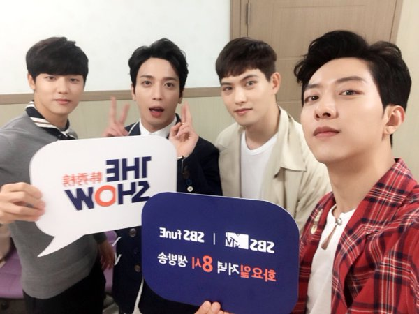 """CNBLUE Grabs 5th Win for """"You're So Fine"""" on """"The Show,"""" Performances by NCT U, VIXX, GOT7, and More"""
