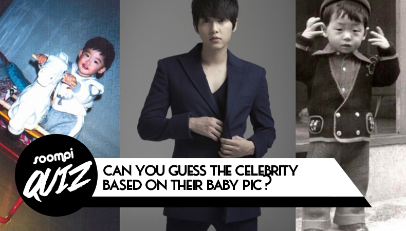 QUIZ: Can You Guess The Celebrity Based On Their Baby Pic?