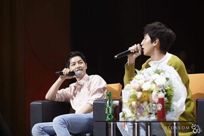 Song Joong Ki Reveals a Time He Cried Because of Lee Kwang Soo
