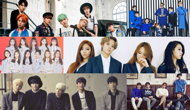 f(x), FTISLAND, SHINee, Block B, I O I, and BTS Performing at KCON