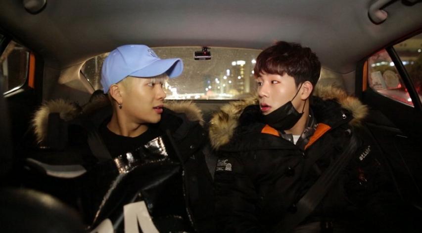 "Watch: GOT7's Jackson and MONSTA X's Jooheon Bicker Over Everything on ""Celebrity Bromance"""