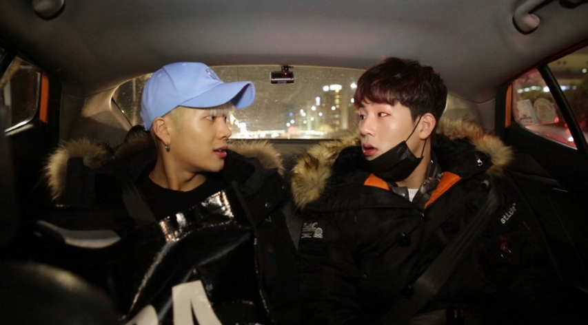 "Watch: GOT7's Jackson and MONSTA X's Jooheon Bicker Over Everything on ""Celebrity Bromance"""
