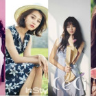 Idols and Actresses Model Four Hot Summer Trends