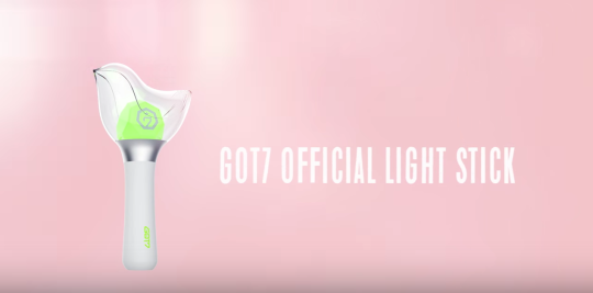 got7 light stick
