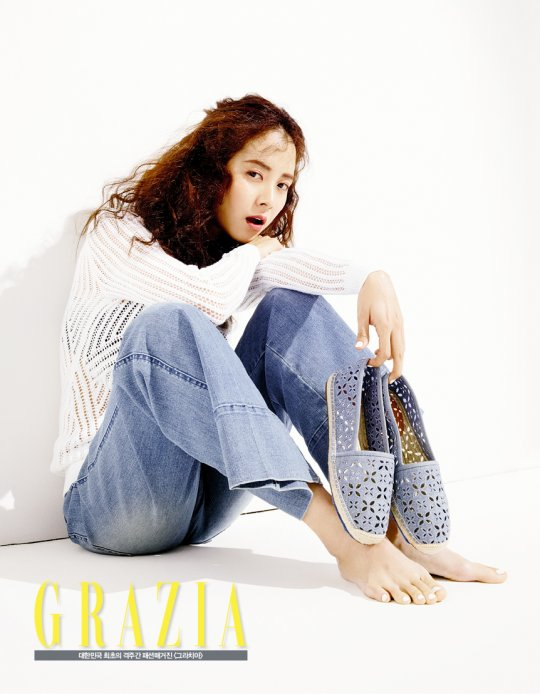Song Ji Hyo Is a Trendy Jetsetter for Grazia Magazine