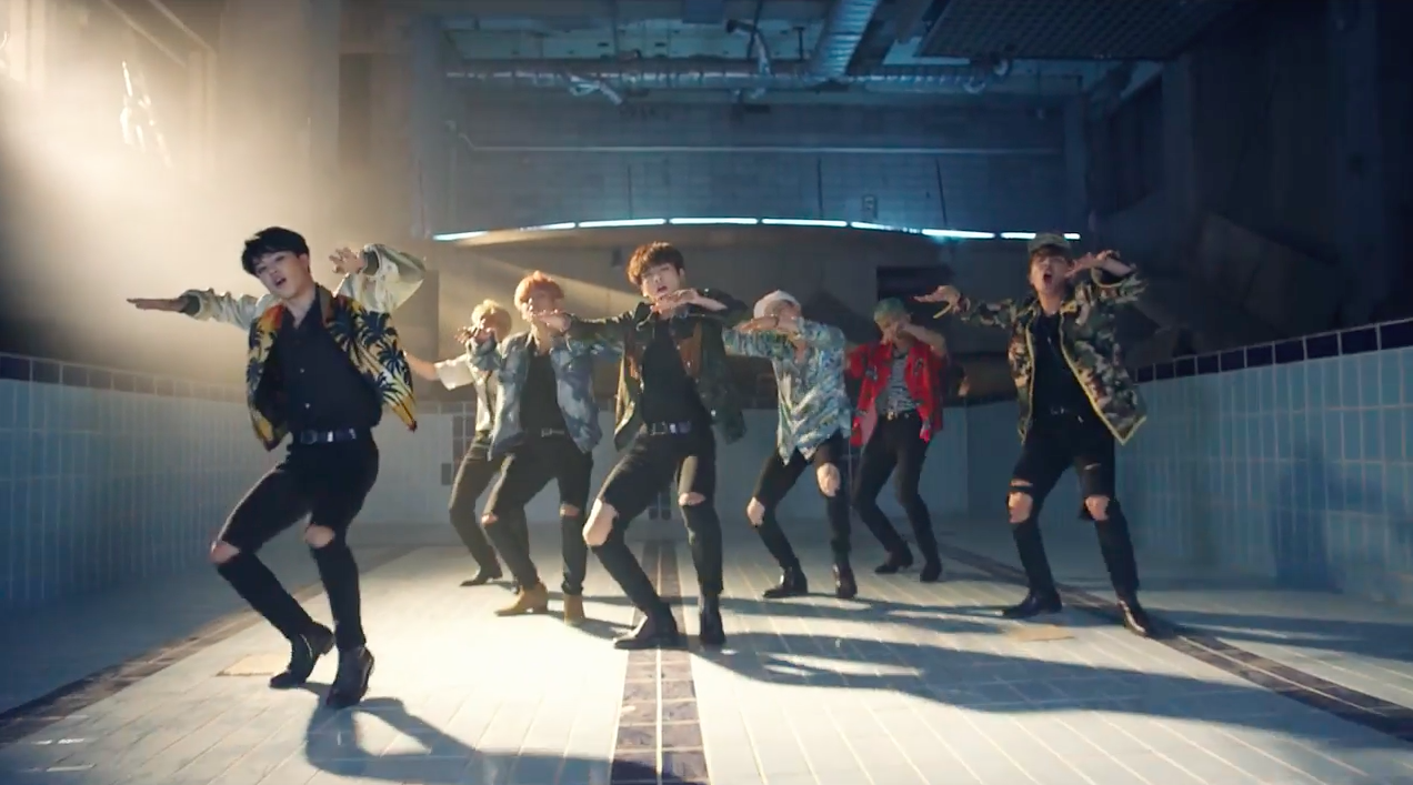 "BTS Burns It Up In Teaser Video For ""Fire"" MV"
