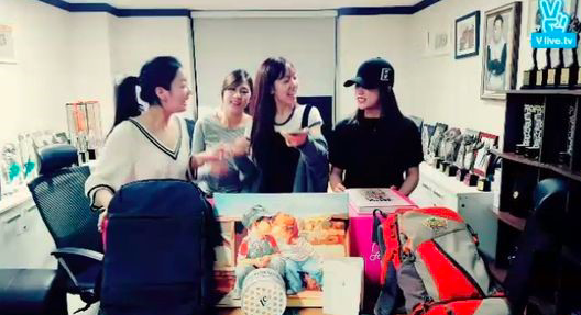 A Pink Excitedly Greets Fans And Hints Comeback Is Near
