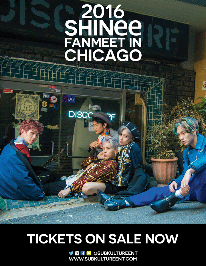 Giveaway: Win Tickets To See SHINee Live In Chicago