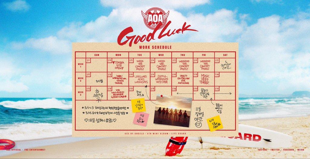 aoa schedule