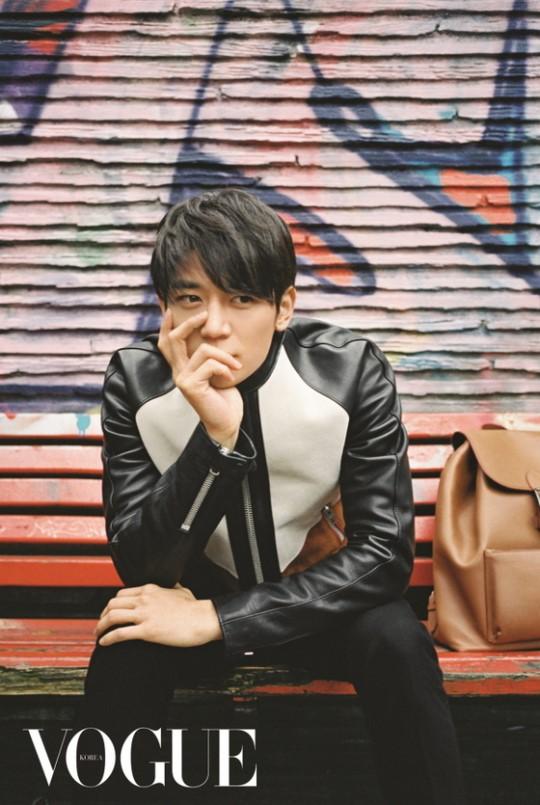 SHINee's Minho Shows Off His Charisma For Vogue Korea