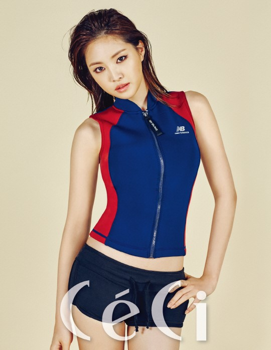 Son Naeun Sports Sexy Athleisure For Ceci
