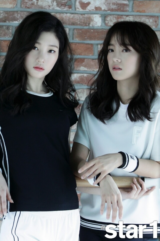jung chaeyeon kim sejung