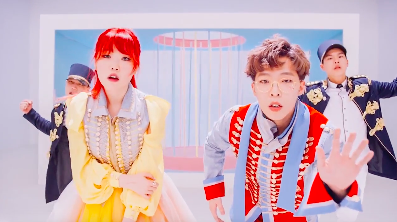 "Watch: Akdong Musician Releases Fun MVs For Double Title Tracks ""Re-Bye"" and ""How People Move"""