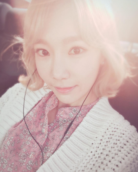 Girls' Generation's Taeyeon Joins Snapchat!