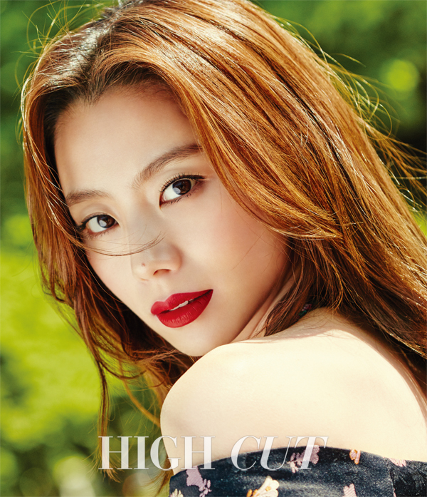 Park Soo Jin Basks In The Parisian Sun For High Cut