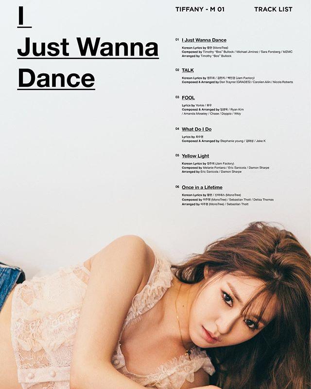 Tiffany Tracklist