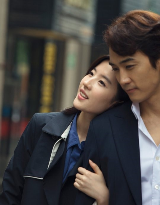 "Song Seung Heon and Liu Yifei Show Real Chemistry In Preview Stills Of ""The Third Way of Love"""