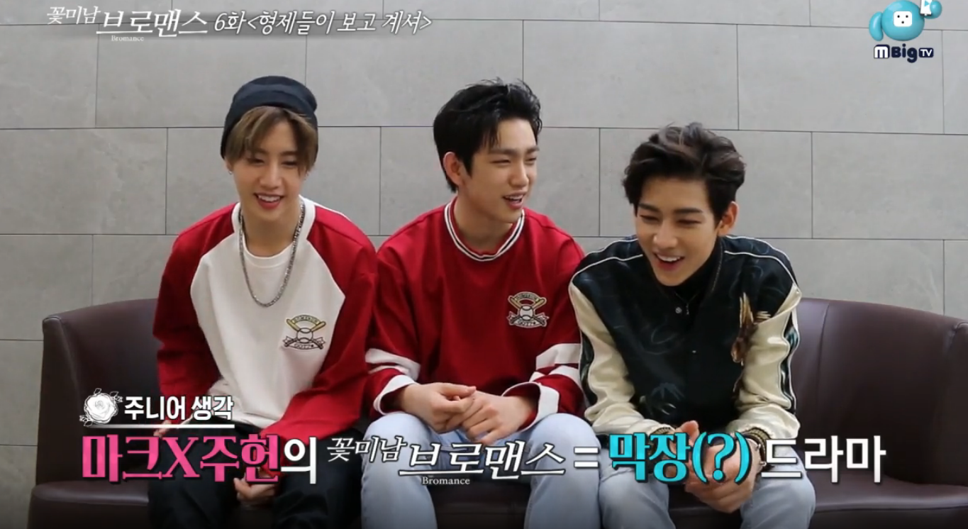 "Watch: GOT7's BamBam, Junior, And Mark Choose Who They'd Want To Star With On ""Celebrity Bromance"""