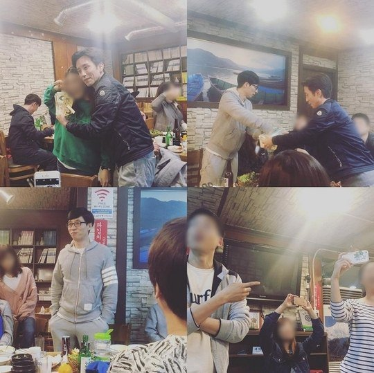 "Yoo Jae Suk And Yoo Hee Yeol Open Their Wallets For ""Sugar Man"" Dinner"