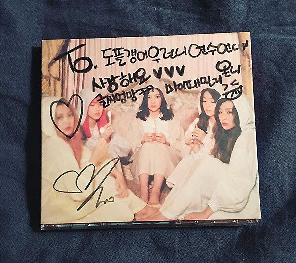 Red Velvet Signed CD For Ha Yeon Soo