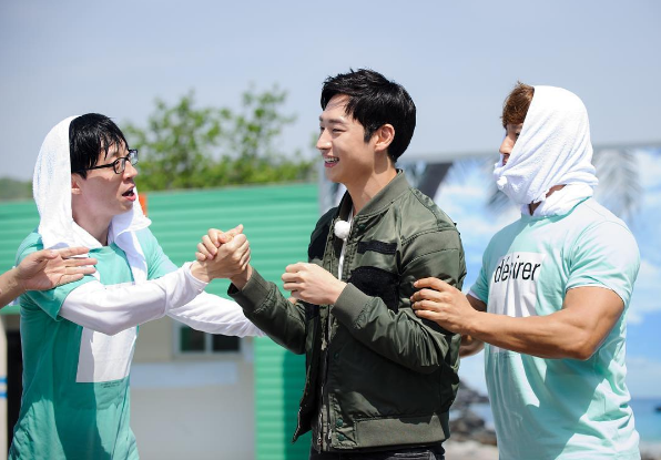 Yoo Jae Suk Lee Je Hoon Kim Jong Kook