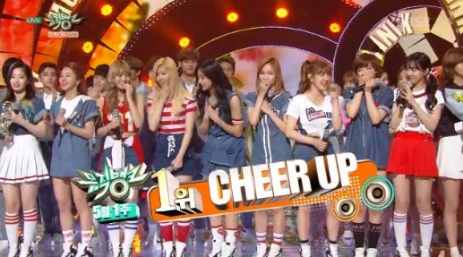 "Watch: TWICE Gets 2nd Win With ""Cheer Up"" On ""Music Bank,"" Performances By VIXX, SEVENTEEN, NCT U, And More"
