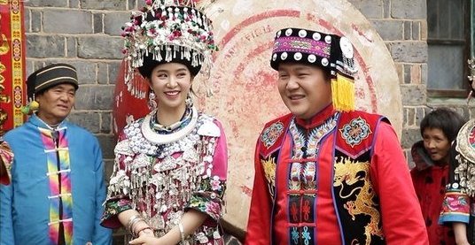 "Jo Se Ho and Cao Lu Have Traditional Chinese Wedding On ""We"