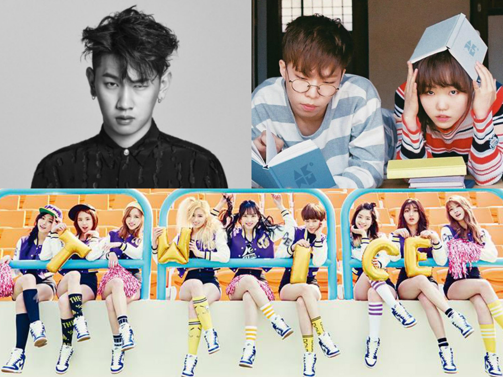 TWICE, Akdong Musician, And Crush Fight For Top Spot On Music Charts