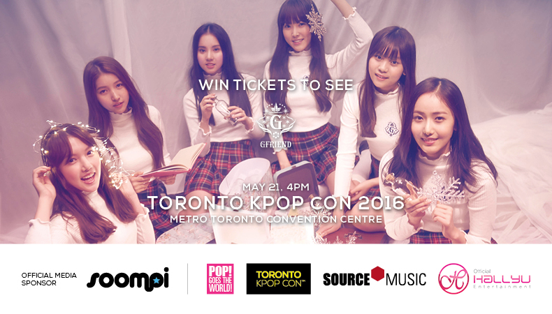 Giveaway: Win A Chance To See GFRIEND Live in Canada During Toronto Kpop Con!
