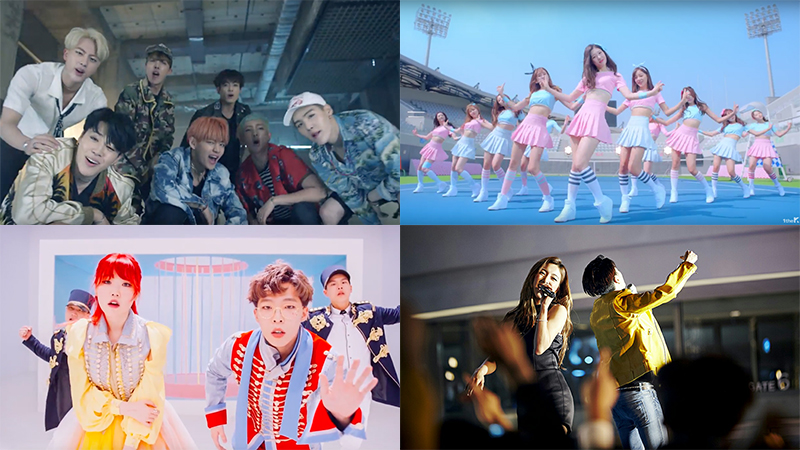 This Week In K-Pop MV Releases: BTS, AKMU, I.O.I & More – May Week 1