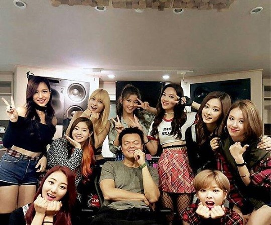 Park Jin Young TWICE