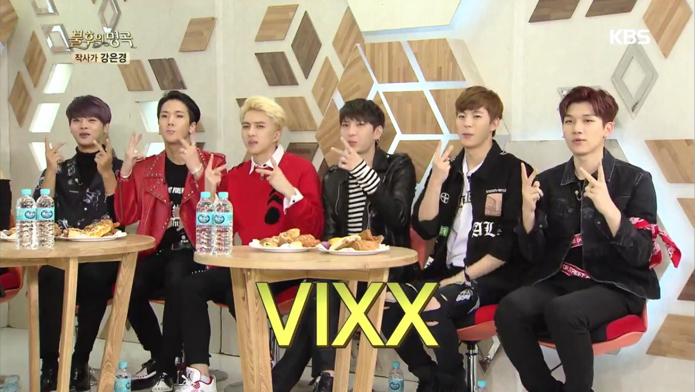 """VIXX Jokes About Their Schedule The First Time They Were On """"Immortal Song"""""""